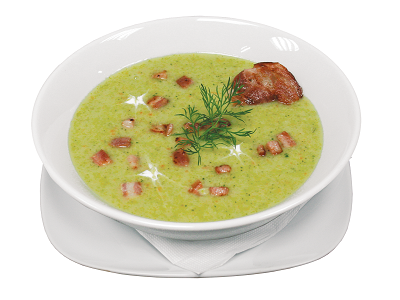 Broccoli and Bacon Soup