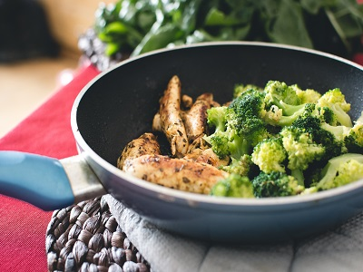Quick Chicken and Broccoli Stir Fry.